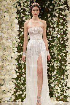 Fall 2015 Wedding Dresses - Best Wedding Gowns At Bridal Fashion Week - Elle. Reem Acra 2015