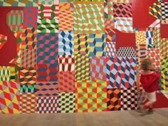 Barry McGee. I find myself coming back to this guys work alot. Geometric wizard.