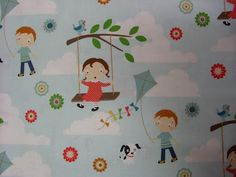 go fly a kite Go Fly A Kite, Stool Covers, Michael Miller Fabric, Cheer Up, Haberdashery, Fathers Day, Quilts, Boutique, Projects