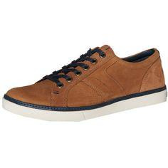 Braune #Sneaker aus #Leder, perfekt für jeden #Casuallook ab 94,90€  Hier kaufen:  http://www.stylefru.it/s601899 #tommyhilfiger #schuhe