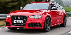 Audi RS6 - Wish this beast would make its way to North America....