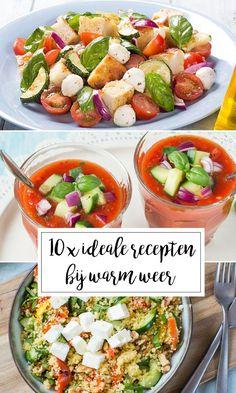 10 x ideale recepten bij warm en tropisch weer - Leuke recepten