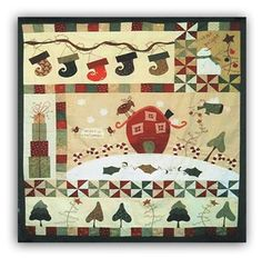 This is such a fun and whimsical design - and now you can enjoy this quilt for the upcoming holidays!