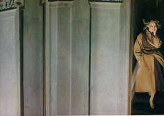   Vogue Paris   Novembre 1977   Gianni Versace   Fashion story: Les beaux soirs commencent à l'ombre   Photography: Guy Bourdin   #VogueFrance #France #Vogue #GuyBourdin #Photography #Fashion #Art #GuyBourdin #Bourdin #70s #70sFashion #1977 #mode #Vintage #VintageFashion #VintagePhotography #Versace #GianniVersace #VintageVersace