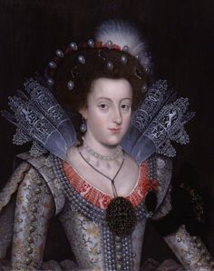 Elizabeth, Queen of Bohemia, unknown artist, 1613. Photo: National Portrait Gallery, London.