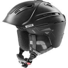 ski helmet, uvex p2us, black mat