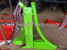 3PT Ripper with Pipelayer, 3-Point Hitch Tractor Pipper for pipe laying
