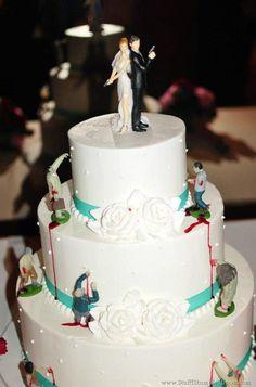 Zombie wedding cake - YUP this WILL happen!