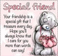 Ideas birthday quotes for best friend friendship poems bff for 2019 Special Friend Quotes, Best Friend Poems, Birthday Quotes For Best Friend, Special Friends, Quotes For Good Friends, Birthday Special Friend, Friend Sayings, Messages For Friends, Friend Cards