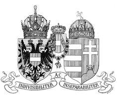 Empire of Austria-Hungary, joint small coat of arms, 1915, Hugo Gerhard Ströhl.