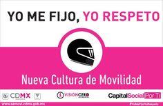 #8ConductasqueSalvanVidas para conducir moto utilice casco  #YoMeFijoYoRespeto.