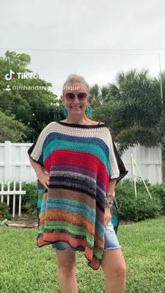 Chevron Crochet Patterns, Crochet Bedspread Pattern, Crochet Poncho Patterns, Knitted Poncho, Crochet Shawl, Crochet Stitches, Knitting Patterns, Knit Crochet, Mittens Pattern