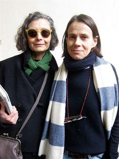 Renata Mohlo interviewing designer Daniela Gregis , Milan