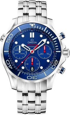 212.30.44.50.03.001 Omega Seamaster 300m Diver Co-Axial Chronograph Mens  Watch 1720671c2b