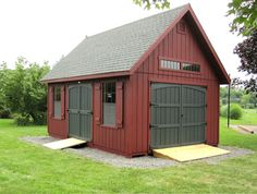 DIY Shed Building - Where to Find Garden & Storage Shed Plans - Lapiner Green Bros Backyard Barn, Backyard Storage, Backyard Sheds, Outdoor Sheds, Garden Shed Diy, Garden Storage Shed, Outside Storage Shed, Quick Garden, Garden Tools