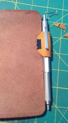 Ok - I bought some leather for $8, making simple journal cover, and will attach this pen holder)... maybe :)
