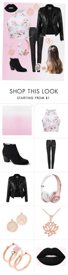 """""""Leather chic"""" by people-are-annoying ❤ liked on Polyvore featuring Lands' End, Bronzallure and Michael Kors"""