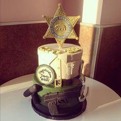 Deputy cake..... pretty amazing