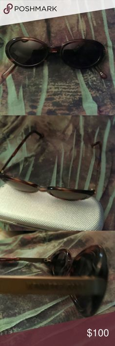 Kenneth Cole Tortoiseshell Sunglasses Tortoiseshell with Silver Kenneth Cole on temple.  Marilyn Monrovol 204.  L 140 me sunglasses.  Can be used for prescription. Never worn. Kenneth Cole Accessories Glasses