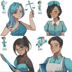 Intj Personality, Myers Briggs Personality Types, Myers Briggs Personalities, Mbti Istj, Infj, Anime Angel Girl, Anime Art Girl, Personalidade Infp, Fanart