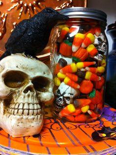 indian corn with skulls