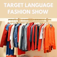 5 weeks of fun in #languagelearning. Day 6: Have a fashion show in the target language. Students take turns as the models while their partner is the designer describing what they are wearing in the target language. Is your class more advanced and/or art