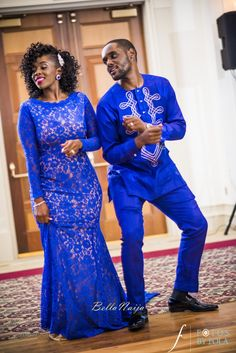 Bukky and wedding_Fotos by Fola_BellaNaija African Dresses For Kids, African Prom Dresses, Latest African Fashion Dresses, African Print Fashion, African Wedding Attire, African Attire, African Wear, Couples African Outfits, African Traditional Wedding Dress