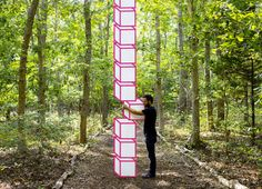 Aakash Nihalani – Tape Art | purple woods