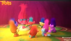 Poppy telling a story to her kids! 3d Animation, Animation Movies, Poppy And Branch, Troll, Poppies, Stencils, Dreamworks, Kids, Children