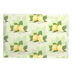 #country - #Lemon Citrus Fruit Botanical Green Pillow Case