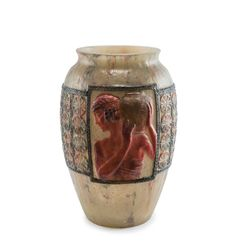 Tall 'Libations' vase, 1924