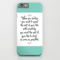 Quote from When Harry Met Sally iPhone & iPod Case