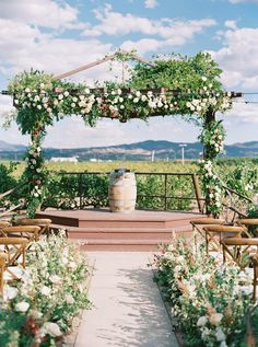 A Heartwarming Wine-Toned Wedding at Lorimar Vineyards and Winery Dream Wedding, Wedding Day, People Fall In Love, Chuppah, Italy Wedding, Vineyard Wedding, Ceremony Decorations, Color Themes, Big Day