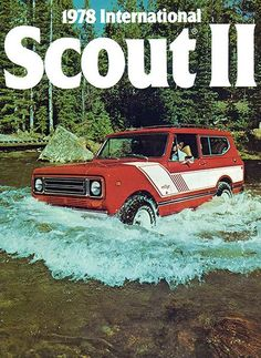1978 International Scout II - Promotional Advertising Poster