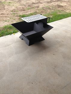 30 Inch Fire Pit With Removable Grill by AshkoFabricating on Etsy