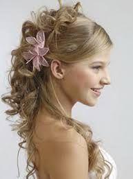 un peinado de joven para el día de un matrimonio o unos 15