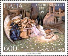 Vangelli. Italy 1990