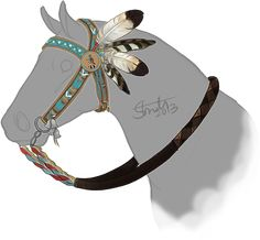 Teepee Trials Prize: Raccoon Chief Bridle by strideroo