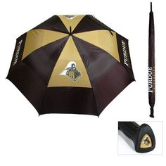 Team Golf Adults' Purdue University Umbrella - Golf Equipment, Collegiate Golf Products at Academy Sports