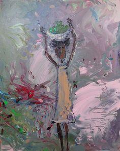 Original World Culture Painting by Judy Wentzel Original Paintings, Original Art, Market Baskets, Impressionism Art, World Cultures, Buy Art, Saatchi Art, Contemporary Art, Canvas Art