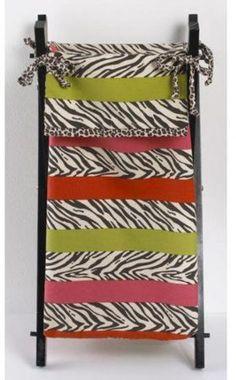 Cotton Cheetah Trim Hamper Decorative Home Decor Modern Style Storage 100 Cotton #CottonTale