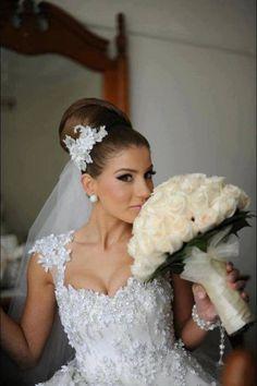 peinado de novia alto!!!