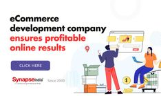 Ensure raised profit in online retail business.   Ecommerce development company SynapseIndia offers reliable solutions to REACH CUSTOMERS GLOBALLY, SELL MORE, AND INCREASE REVENUE.   Get hold of the latest tech services to stay always ahead. Ecommerce, Retail, Tech, Business, Store, E Commerce, Business Illustration, Technology, Sleeve