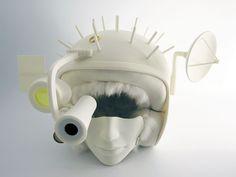 Seven Necessities: Trophy Helmet by Atelier Ted Noten, 2012. Photography: Atelier Ted Noten