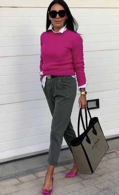 Casual Work Outfits, Business Casual Outfits, Work Attire, Mode Outfits, Classy Outfits, Stylish Outfits, Fall Outfits, 60 Fashion, Fashion Over 50