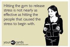Getting rid of stress