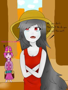 It's Marcy and PB! I really like the song I'm Just Your Problem, so I decided to try and make a drawing of it! :DD I hope it looks good..