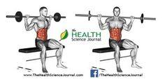© Sasham | Dreamstime.com - Exercising for bodybuilding. Seated Barbell Twist
