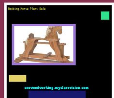 Rocking Horse Plans Sale 074839 - Woodworking Plans and Projects!