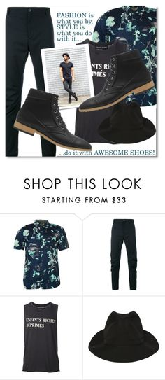 """Bez naslova #147"" by andrea2andare ❤ liked on Polyvore featuring Vans, Lanvin, Enfants Riches Déprimés, Yohji Yamamoto, men's fashion, menswear, shoes and mansshoes"